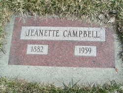 Jeanette <I>Patterson</I> Campbell