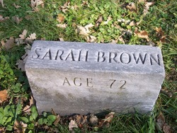 Sarah Ann <I>Green</I> Brown