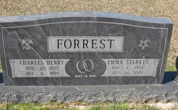 Emma <I>Starkey</I> Forrest