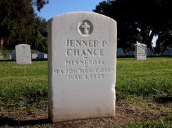 Maj Jenner Perry Chance