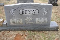 Bessie Lou <I>Ward</I> Berry