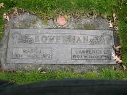 Mary J Bowerman