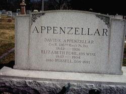Elizabeth R. <I>Fohl</I> Appenzellar