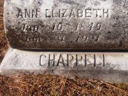 Anna Elizabeth <I>Van Hook</I> Chappell