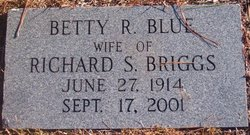 Betty <I>Blue</I> Briggs