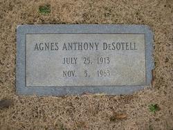 Agnes <I>Anthony</I> DeSotell