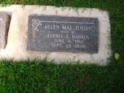 Helen Mae <I>Jensen</I> Hansen