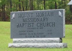 Mount Moriah Missionary Baptist Church Cemetery