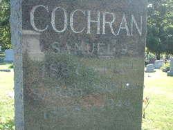 Sarah Martha <I>Davis</I> Cochran