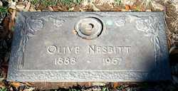 Cora Olive <I>McGlaun</I> Nesbitt