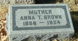 Anna Teresa <I>Kindel</I> Brown