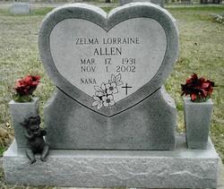 Zelma Lorraine Allen