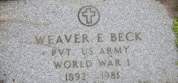 Weaver E. Beck