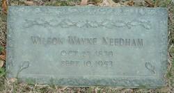 Wilson Wayne Needham