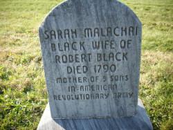 Sarah <I>Malachai</I> Black