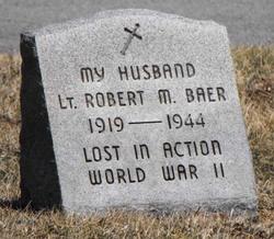 Lieut Robert M Baer