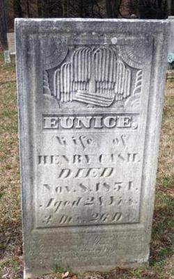 Eunice <I>Brown</I> Cash