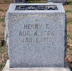 Henry Truman Cash