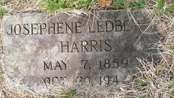 Marion Josephine <I>Ledbetter</I> Harris