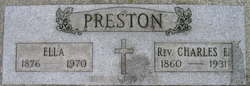 Charles Earl Preston