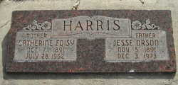 Catherine Effie <I>Foisy</I> Harris