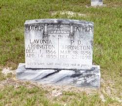 Lavonia Sutton <I>Watson</I> Arrington