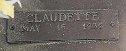 Claudette Felts