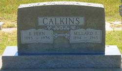 Edna Fern <I>Mallory</I> Calkins