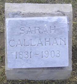 Sarah J. <I>Addison</I> Callahan