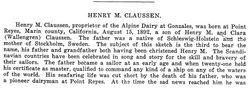 Henry Magnus Claussen