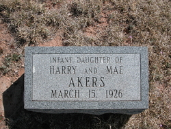 Infant Daughter Akers