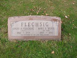 Mary F. <I>Weber</I> Flechig