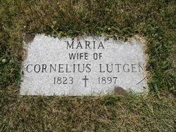 Maria Jeanne <I>Welter</I> Lutgen