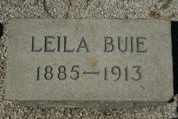 Leila <I>Parrish</I> Buie