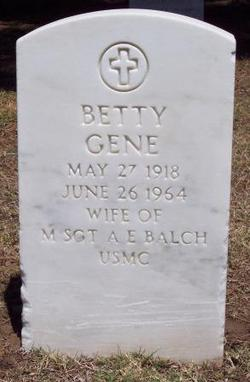 Betty Gene Balch