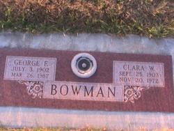 Clara W. <I>Othling</I> Bowman
