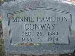 Minnie <I>Hamilton</I> Conway