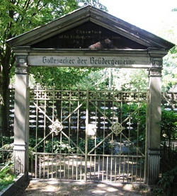 Friedhof der Herrnhuter Brüdergemeinde