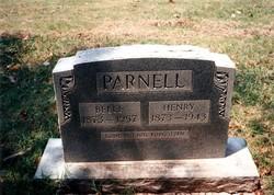 Ellen Belle <I>Harriss</I> Parnell