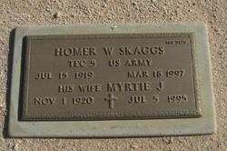 Homer W Skaggs