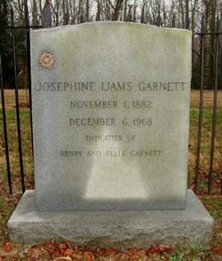 Josephine Ijams Garnett