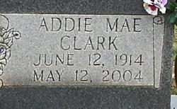 Addie Mae <I>Clark</I> Akins
