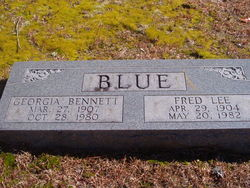 Georgia <I>Bennett</I> Blue