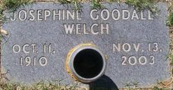 Josephine <I>Goodall</I> Welch