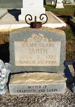 Wilma <I>Clark</I> Smith