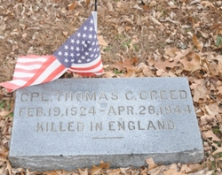 Corp Thomas Carroll Creed, Jr