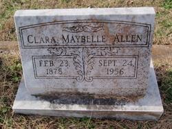 Clara Maybelle <I>Witt</I> Allen