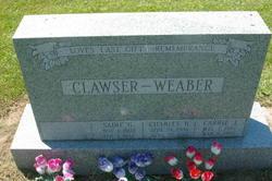 Sadie G <I>Weaber</I> Clawser