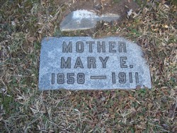 Mary E <I>Rapp</I> Bensel