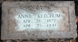 Annie <I>Couch</I> Ketchum